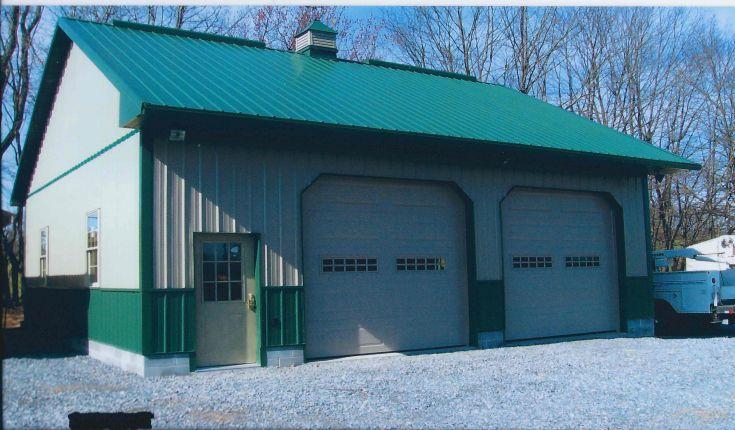 New Garage/ Shop