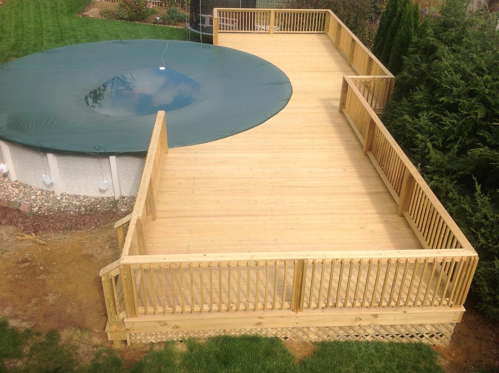 Pool Deck By Leids Carpentry 2 Leid S Carpentry