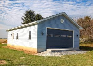 New Two Car Garage