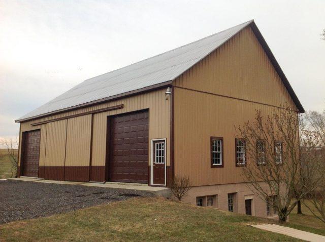 New Barn Siding