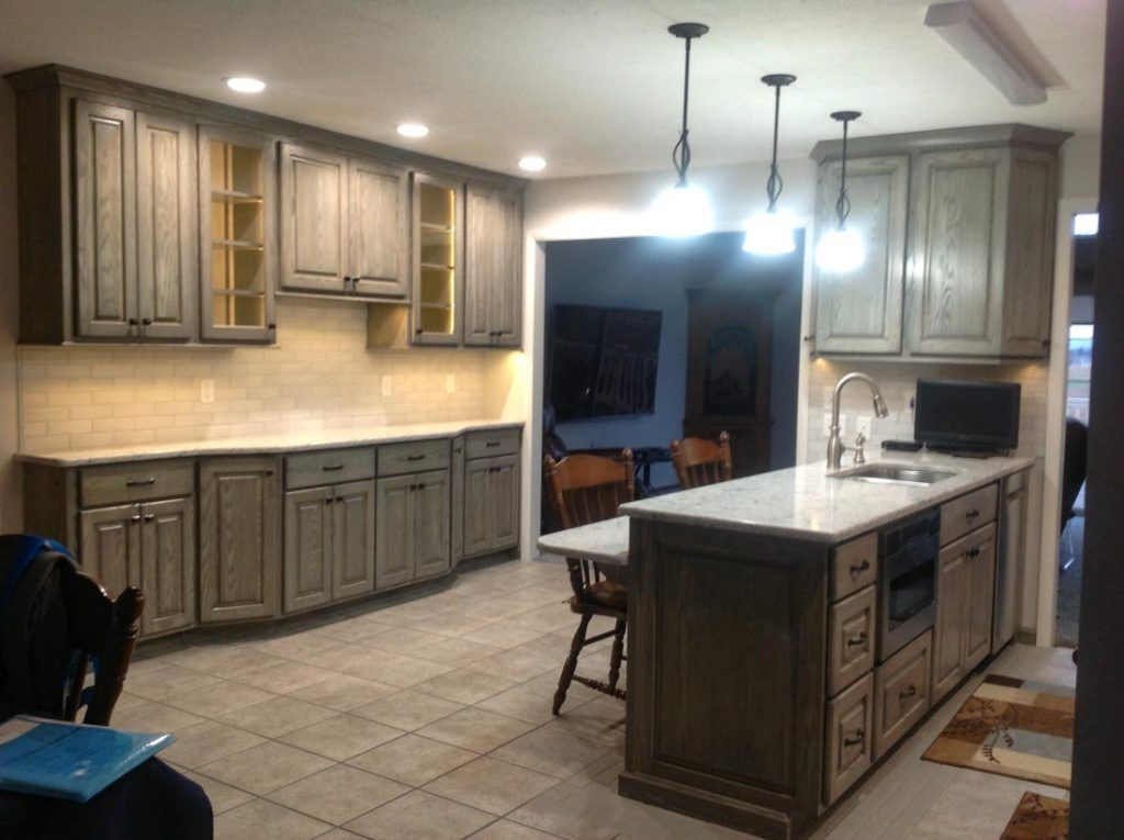 Complete Kitchen Remodel Leid S Carpentry