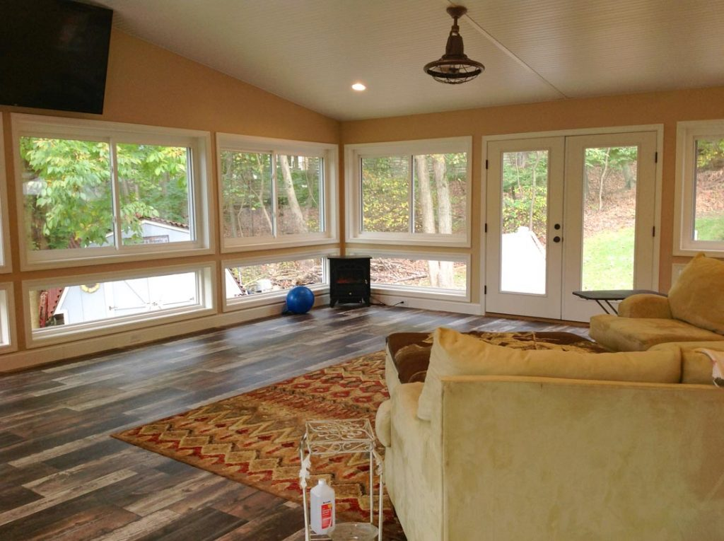 Home Addition with Sunroom