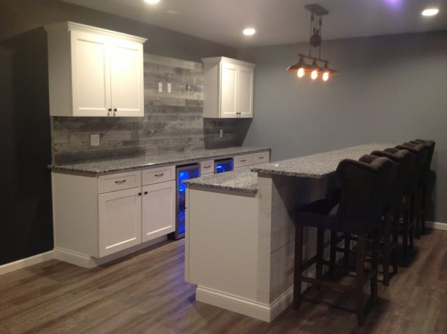 Basement Remodel by Leid's Carpentry