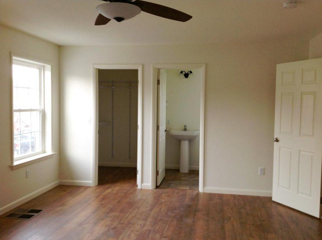 Remodeled room