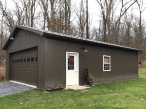 New pole barn